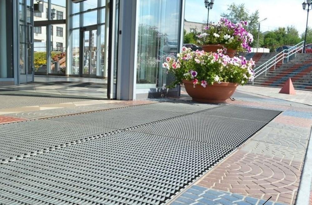 Грязезащитные уличные покрытия - компания Кросо