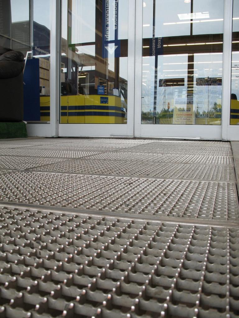 Купить грязезащитные уличные покрытия - компания Кросо