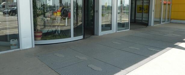 Купить грязезащитный сварной решетчатый настил - компания Кросо